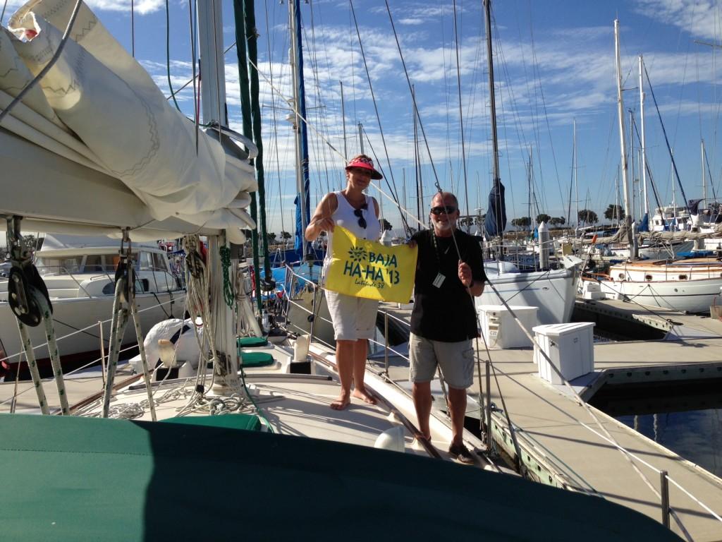 Captain Richard and Susanne