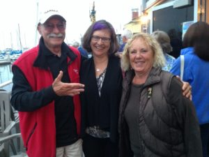Peter and Lorene, with Cindy