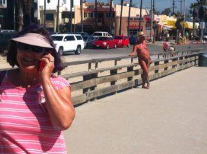 Strolling the Venice Wharf