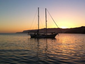Morning Star, another boat that was in Prisoner's Cove for a while