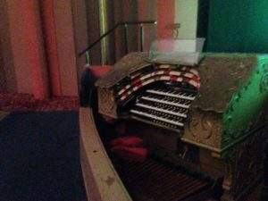 The organ in the theater in the Casino building