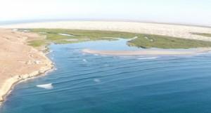Bahia Santa Maria - no town, just a beautiful lagoon and miles and miles of beach