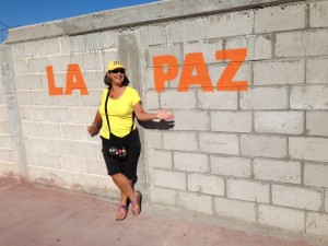Happy to be in La Paz, our new temporary home, at last!