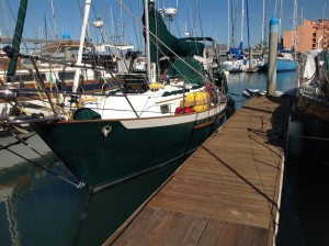 Cool Change at our marina in La Paz