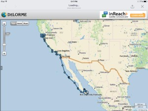 Our journey so far: 1692 nautical miles since leaving San Francisco on September 4th