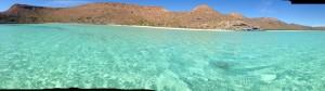 Gorgeous water, gorgeous beach