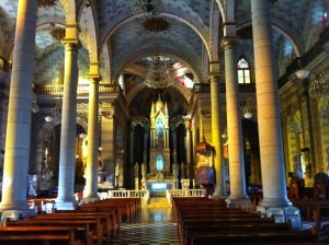 Mazatlan's main cathedral