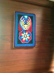 Huichol Indian art that Rick bought for the boat
