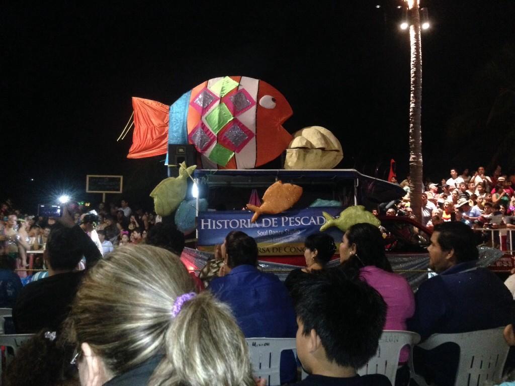 A tribute to fish, Mazatlan's principal industry