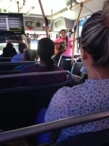 Mexican bus entertainment