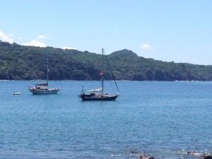 Moving on to an anchorage in Chacala