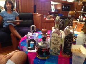 Tequila tasting on Shindig