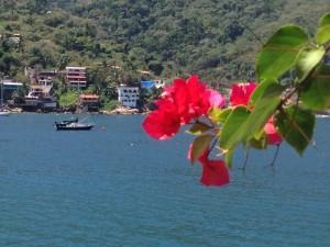 Cool Change on her mooring in Yelapa Bay