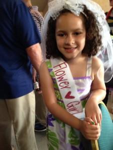 Erin's daughter Kiara