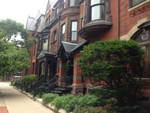 Another street nearby Kim and Pete's place in Chicago. The architecture is charming