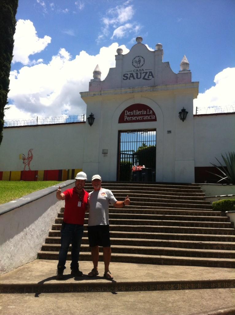 Rick and our private Sauza tour guide Rafael