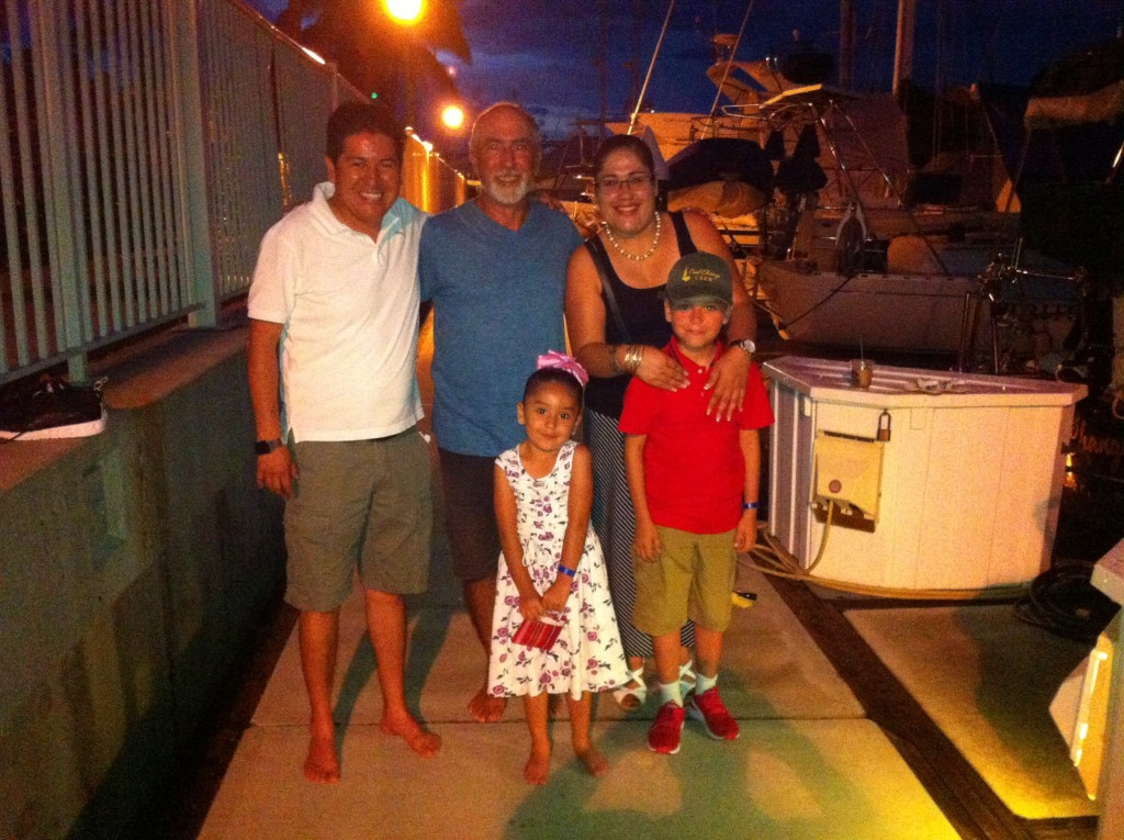 A family from Guadelajara we befriended