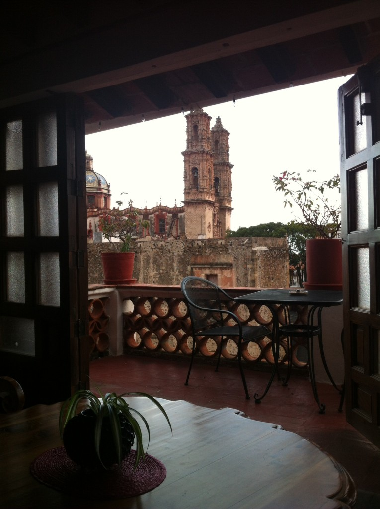 Our view from La Casita in Taxco