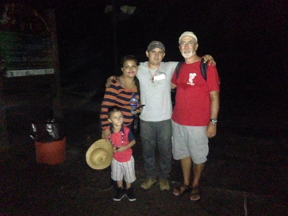 The Mexican family who adopted us for our tour