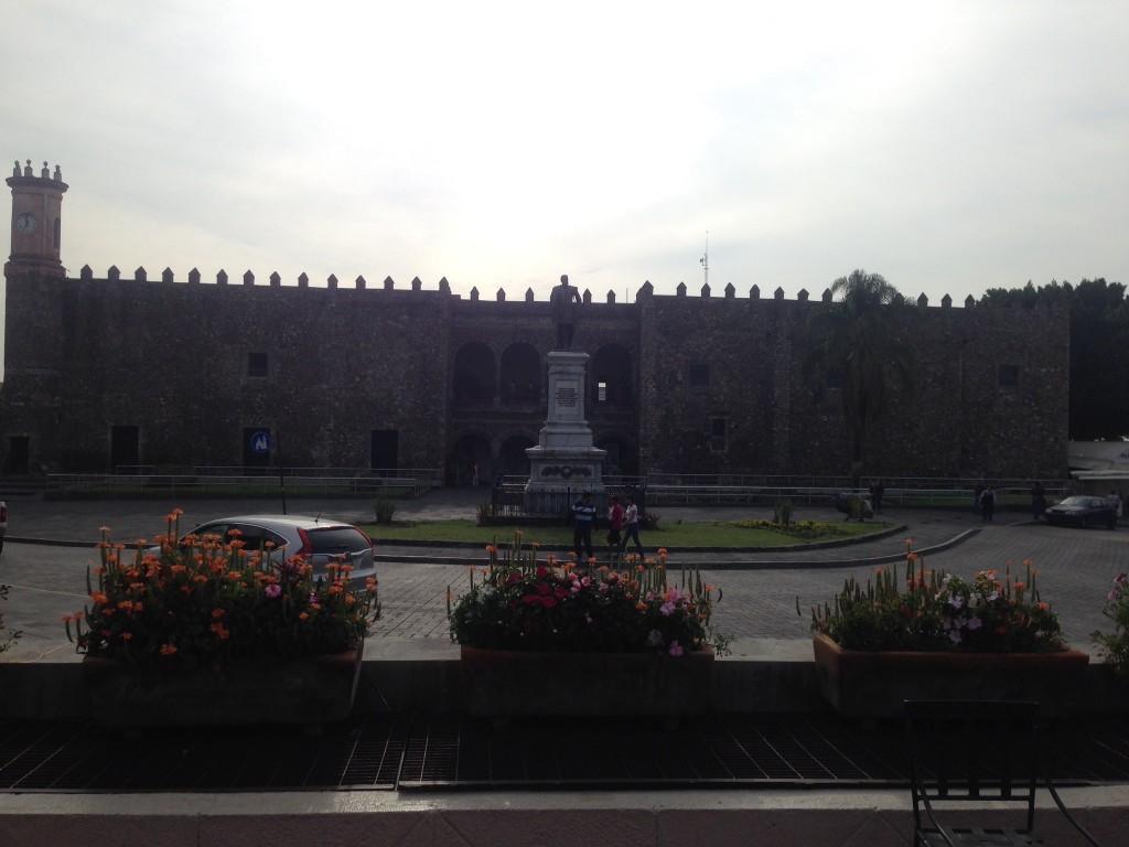 The Palacio de Cortez in Cuernavaca