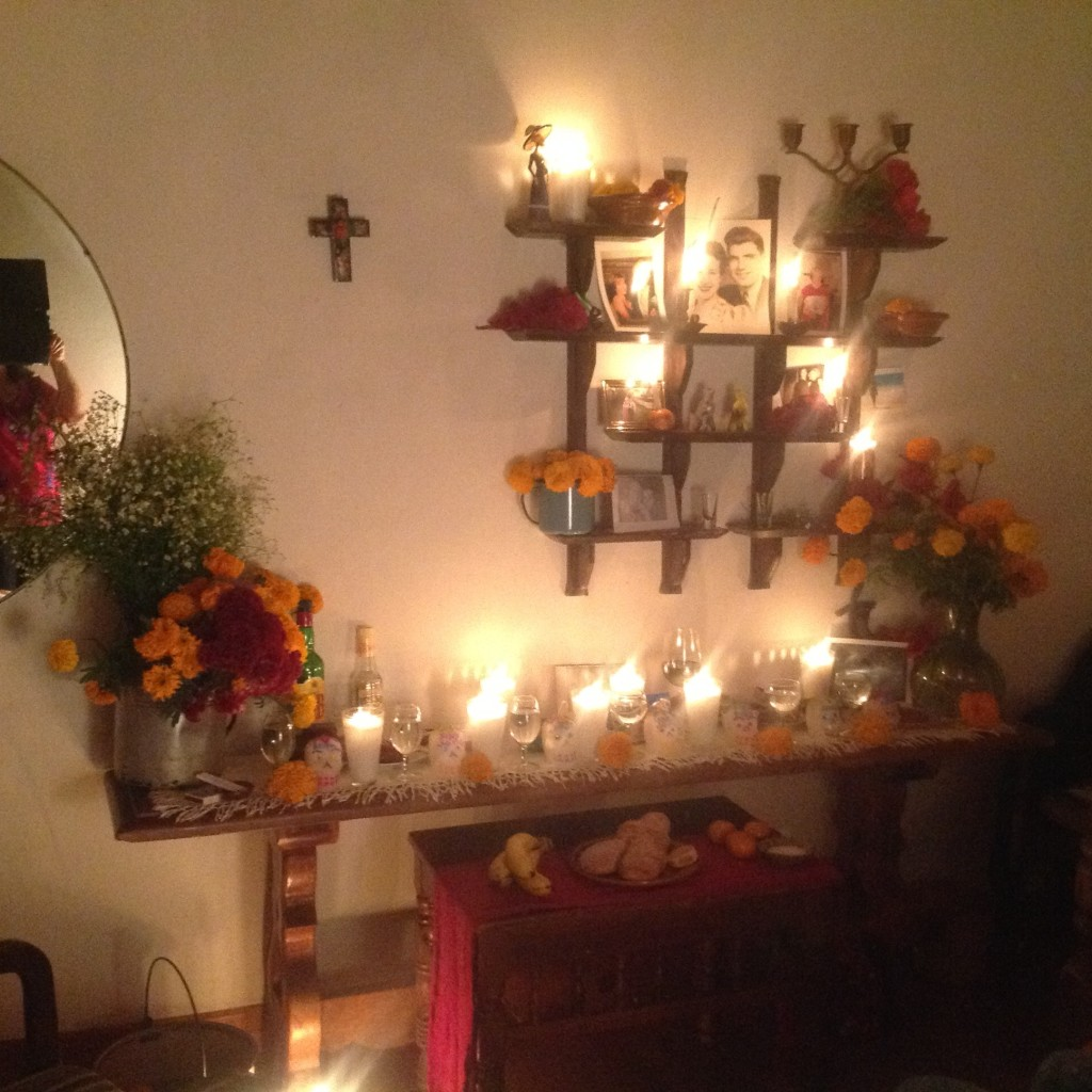 The alter we created