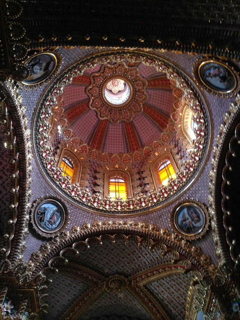 Inside the Cathedral dome