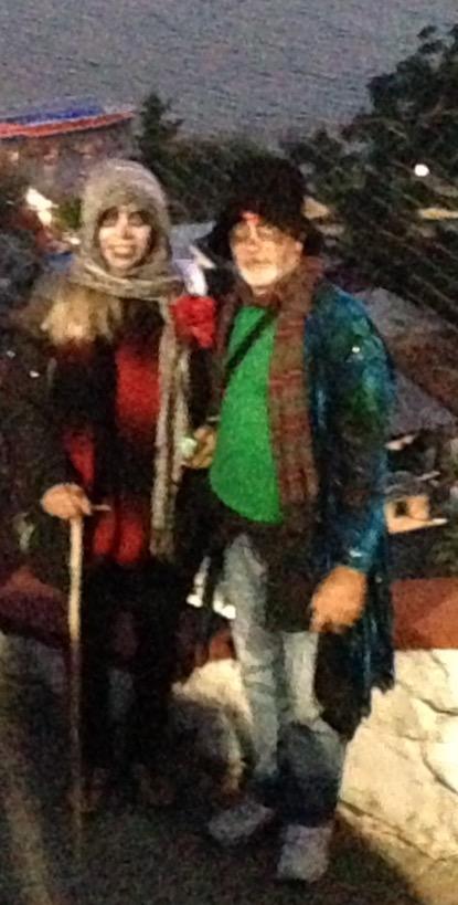 Bev and Rick, a handsome Catrina and Catrine pair