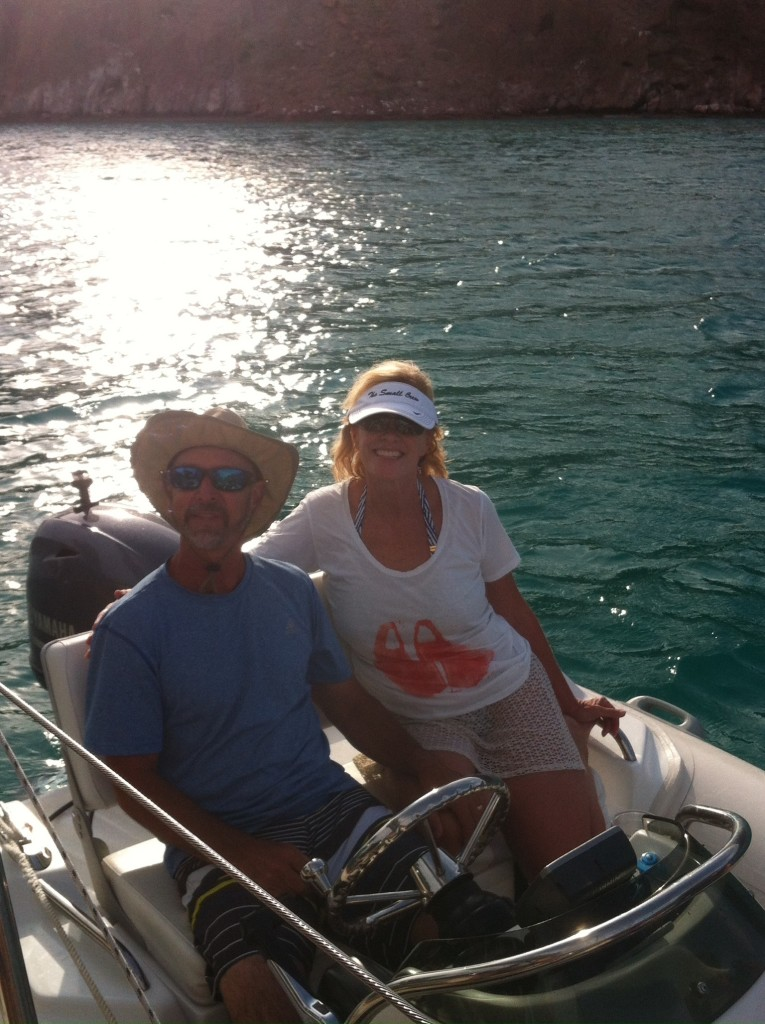 Craig and Kathy Small from the motor vessel Small Crew