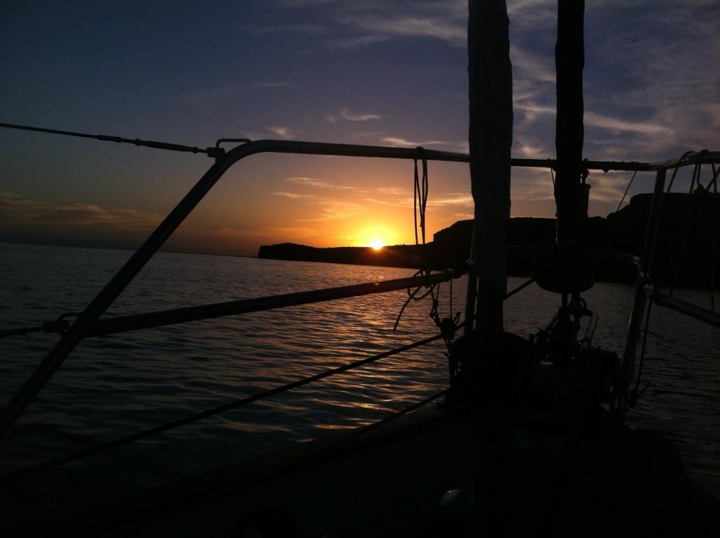 Sunset a San Gabriel