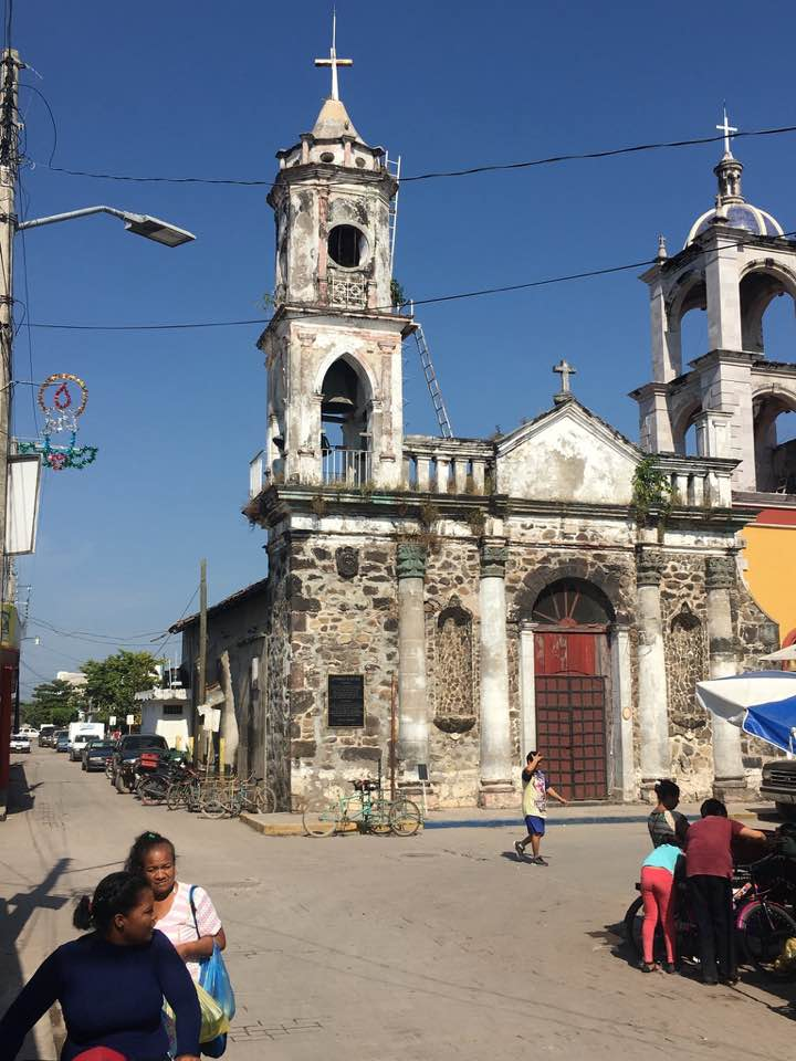 The Church of San Blas in the main square