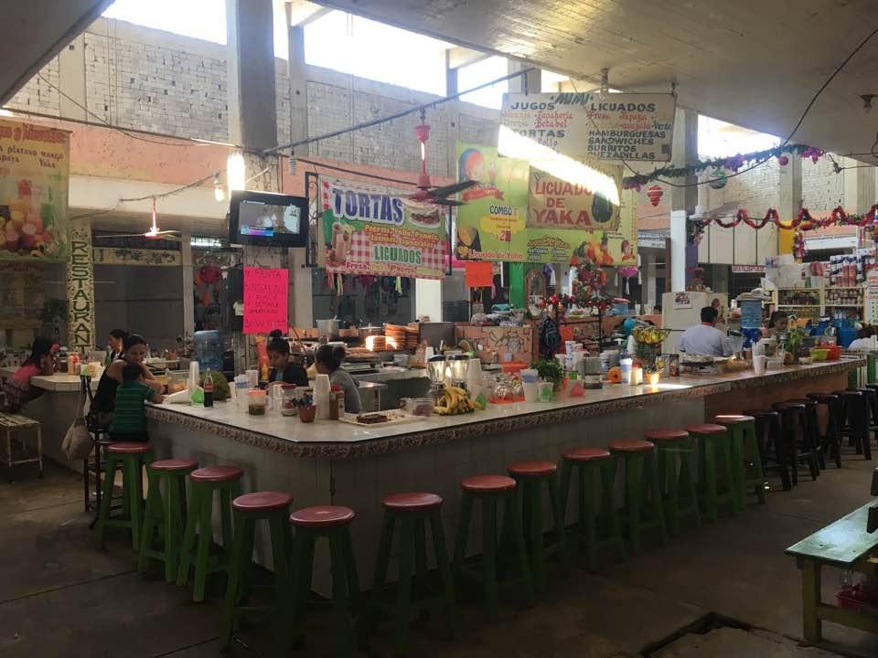 The colorful San Blas market